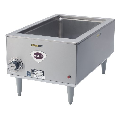 Wells-SMPT-D-Food-Warmer-countertop-electric-one-12-x-20-pan-opening-and-drain-0