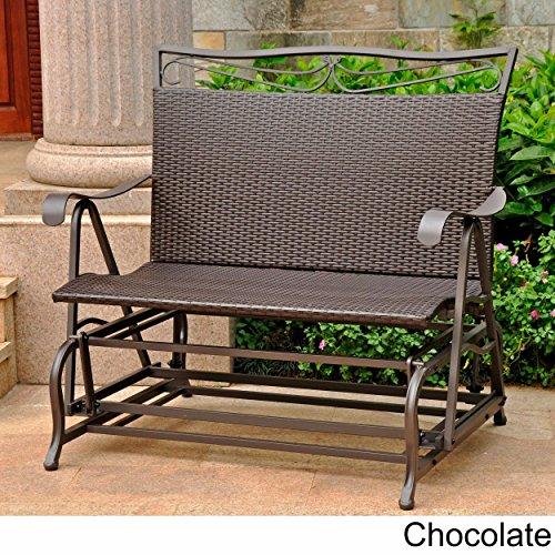 Wicker-ResinSteel-Single-Hanging-Patio-Chair-Swing-Chocolate-P-0-1