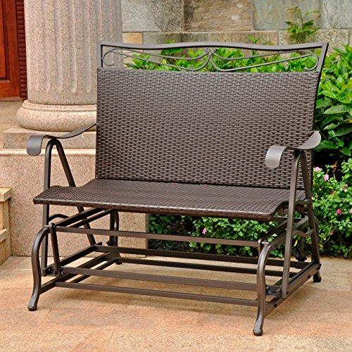 Wicker-ResinSteel-Single-Hanging-Patio-Chair-Swing-Chocolate-P-0