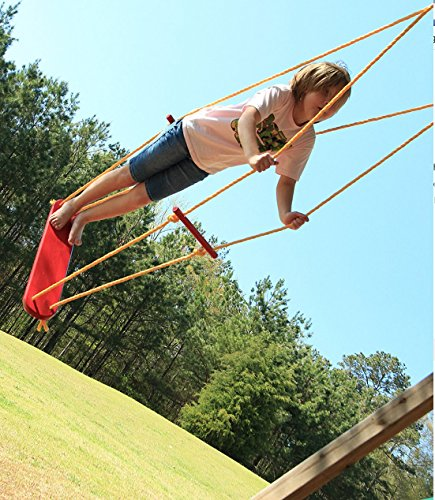 Wind-Surfer-Skateboard-Rope-Tree-Swing-with-Wooden-Seat-Porch-and-Garden-Swing-with-Weight-Capacity-of-300-Lbs-Made-in-USA-0-2