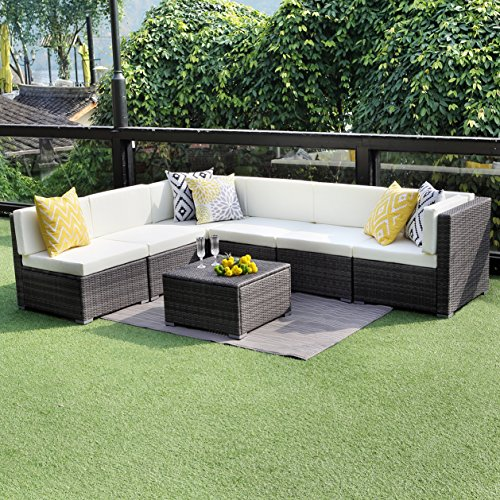 Wisteria-Lane-Outdoor-Conversation-Patio-Furniture-Set7-PCS-Ratten-Sectional-Sofa-Couch-with-Cushion-Gray-Wicker-0