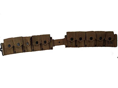 World-War-Replica-US-M1-Garand-M1923-Cartridge-Belt-Will-fit-up-to-48-Waist-0-1