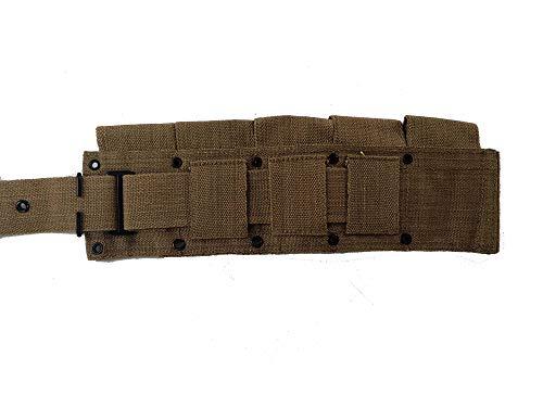 World-War-Replica-US-M1-Garand-M1923-Cartridge-Belt-Will-fit-up-to-48-Waist-0-2