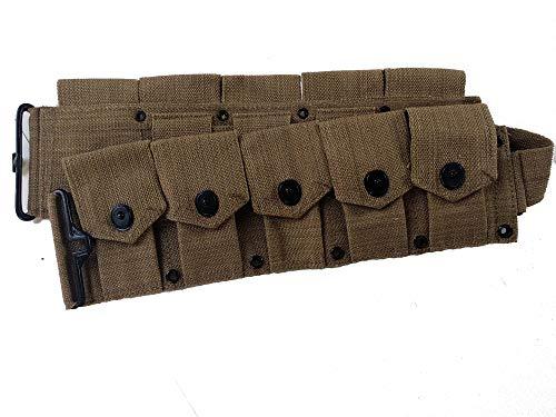 World-War-Replica-US-M1-Garand-M1923-Cartridge-Belt-Will-fit-up-to-48-Waist-0