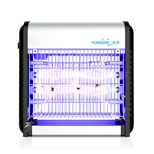 YONGXIN-Powerful-Electric-Bug-ZapperFly-and-Insect-Killer-Trap-with-UV-Lights-Attracter-for-ResidentialIndustrial-and-Commercial-Indoor-Use-0