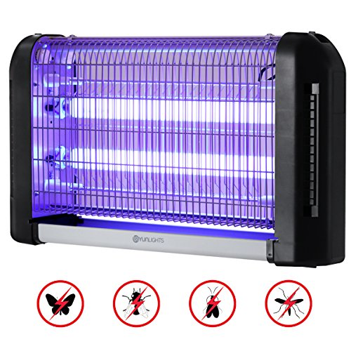 YUNLIGHTS-Electric-Bug-Zapper-Light-20W-Mosquito-Killer-Fly-Trap-Wall-Sconce-Fly-Light-for-Restaurant-Kitchen-Garage-0