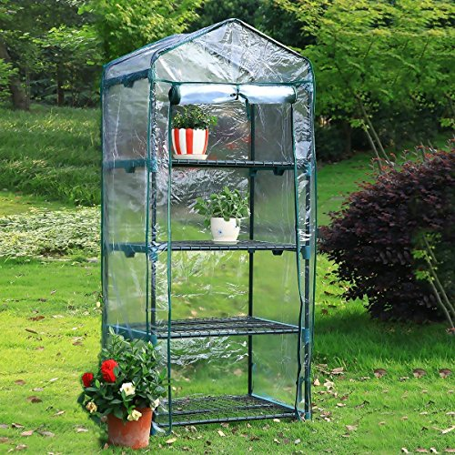 Yardeen-4-Tiers-Mini-Greenhouse-Portable-Kit-Yosemite-Extended-Backyard-27-Long-x-18-Wide-x-63-High-0-0