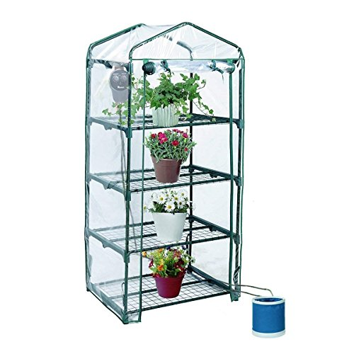 Yardeen-4-Tiers-Mini-Greenhouse-Portable-Kit-Yosemite-Extended-Backyard-27-Long-x-18-Wide-x-63-High-0