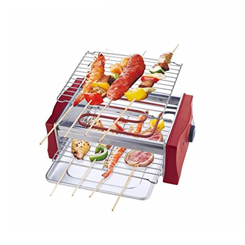 ZZ-aini-Electric-Grills-Smokers-Portable-BBQ-Camping-Picnicking-Table-Top-Balcony-0