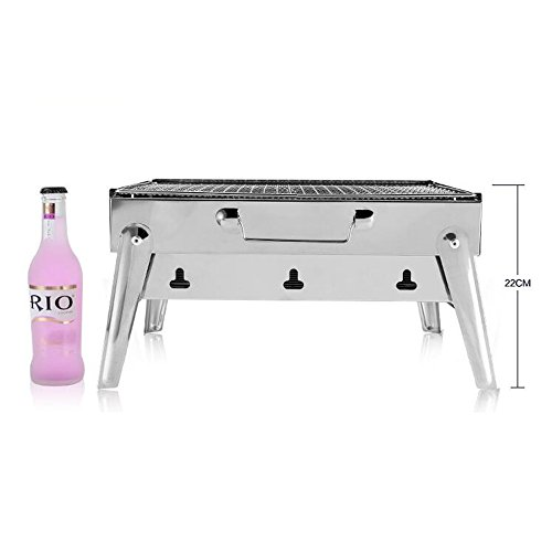 ZZ-aini-Stainless-Steel-Portable-Folding-Charcoal-Grills-BBQ-Griddles-Smokers-Camping-Picnicking-Table-Top-Barbecue-0-0