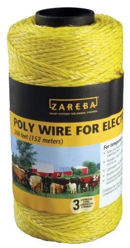 Zareba-500-Feet-Yellow-Poly-Wire-0