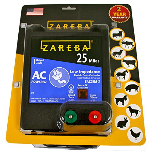 Zareba-EAC25M-Z-AC-Powered-Low-Impedance-25-Mile-Range-Electric-Fence-Charger-0-0
