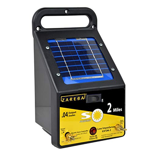 Zareba Esp2m Z 2 Mile Solar Low Impedance Electric Fence