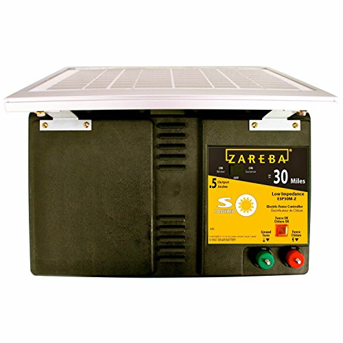 Zareba-ESP30M-Z-30-Mile-Solar-Powered-Low-Impedance-Electric-Fence-Charger-0