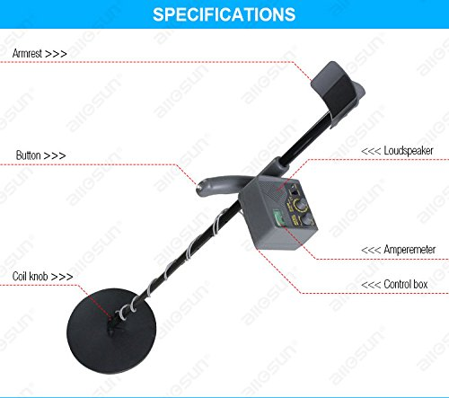 all-sun-TS150-Underground-Metal-Detector-Treasure-Hunter-0-1
