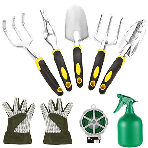evokem-Garden-Tools-Kit-Vegetable-Herb-Gardening-Tools-with-Storage-Tote-Garden-Trowel-Pruners-5-Garden-Hand-Tools-Garden-Gloves-A-Plant-Rope-US-Stock-0-0
