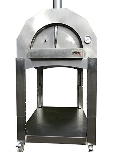 ilFornino-Platinum-Plus-Wood-Fired-Pizza-Oven-Adjustable-Height-One-Flat-Cooking-Surface-0-2