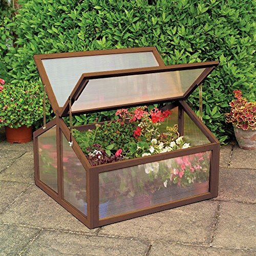 oldzon-Double-Box-Garden-Wooden-Greenhouse-Raised-Plants-Flower-With-Ebook-0-0