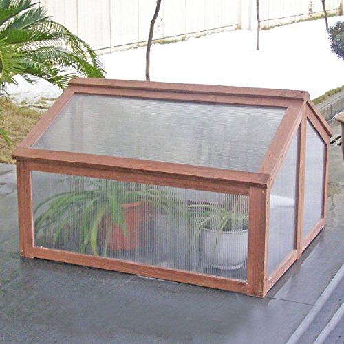 oldzon-Double-Box-Garden-Wooden-Greenhouse-Raised-Plants-Flower-With-Ebook-0-1