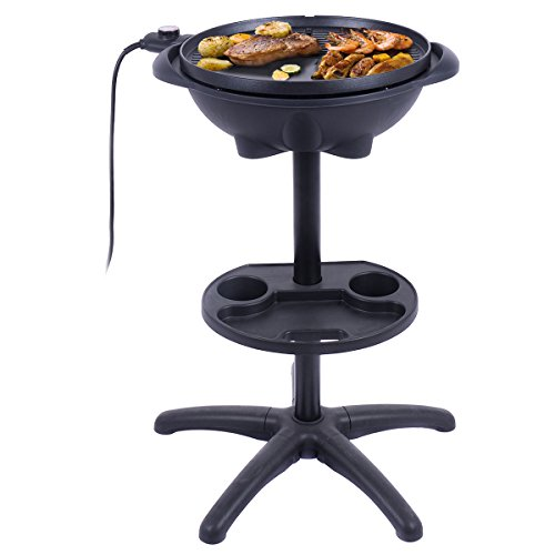 totoshop-Electric-BBQ-Grill-1350W-Non-stick-4-Temperature-Setting-Outdoor-Garden-Camping-0