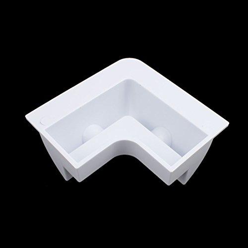 uxcell-7-in-1-White-Solar-Panel-Kit-Corner-Mount-Bracket-for-Cable-Block-Boat-Motorhome-0-0