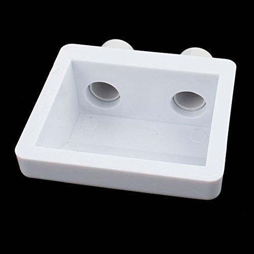 uxcell-7-in-1-White-Solar-Panel-Kit-Corner-Mount-Bracket-for-Cable-Block-Boat-Motorhome-0-2
