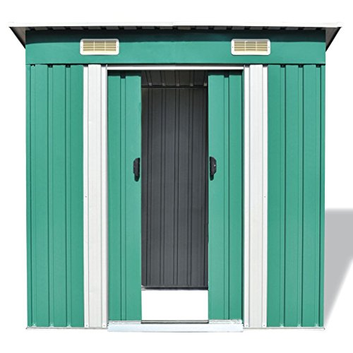 vidaXL-Garden-Shed-Metal-748x488x713-Garage-Tool-Storage-House-2-Colors-0-2