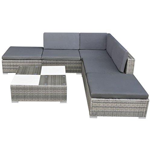 vidaXL-Garden-Sofa-Set-15-Piece-Rattan-Wicker-Patio-Outdoor-Lounging-Furniture-0-0