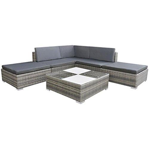 vidaXL-Garden-Sofa-Set-15-Piece-Rattan-Wicker-Patio-Outdoor-Lounging-Furniture-0