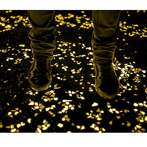 100-Pieces-of-Top-Quality-Glow-in-the-Dark-Pebbles-or-Glow-Stones-for-Walkways-Gardens-Pathways-Decoration-and-MoreYellow-0-1