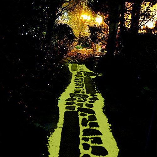 100-Pieces-of-Top-Quality-Glow-in-the-Dark-Pebbles-or-Glow-Stones-for-Walkways-Gardens-Pathways-Decoration-and-MoreYellow-0-2