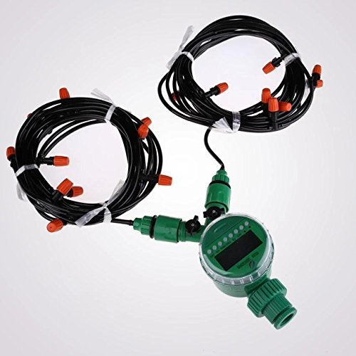 15m-4mm-Hose-with-Micro-Drip-Irrigation-Kit-with-Nozzle-Sprinkler-and-Timer-0-1