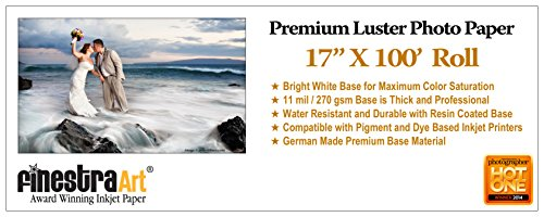 17-X-100-Roll-Premium-Luster-Photo-Paper-Office-Product-0