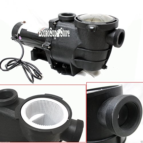 1hp-4980gph-Self-Priming-Inground-Swimming-Pool-Water-Pump-strainer-115v-Ssp750-0