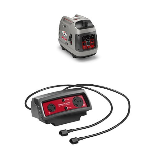 2-Briggs-Stratton-2200-Watt-Inverter-Generators-With-Parallel-Cable-Connector-Kit-0