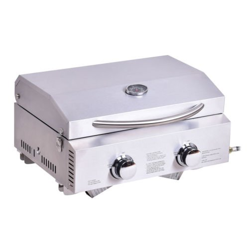 2-Burner-Stainless-Steel-Portable-BBQ-Table-Top-Propane-Gas-Grill-Outdoor-Camp-0-1