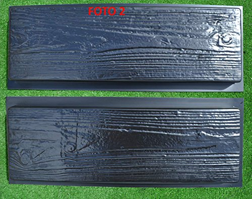 2-Molds-Old-Wooden-Boards-Concrete-Mould-Garden-Stepping-Stone-Path-Patio-S05-0-2