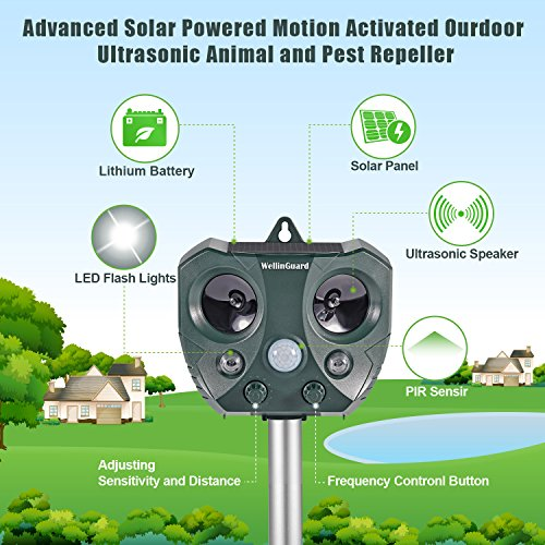 2018-New-Solar-Powered-Ultrasonic-Animal-and-Pest-Repellent-Motion-Activated-Outdoor-Waterproof-Repeller-for-Dog-Cat-Rabbit-Squirrel-Rat-Vole-Raccoon-Fox-etc-0-1
