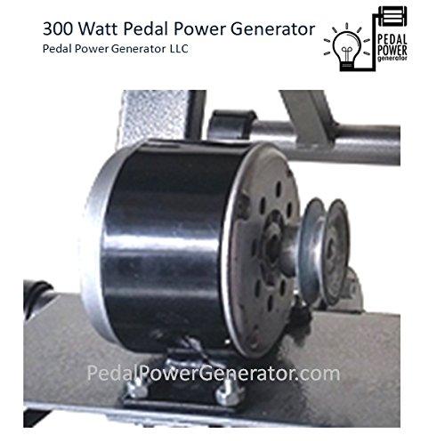 300-Watt-Bicycle-Generator-38-Belt-Drive-Pedal-Power-Pulley-Dynamo-MNS-Power-0