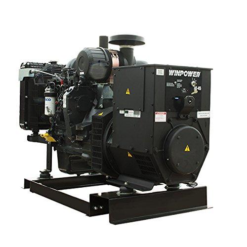 45KW-Winco-Liq-Cool-Diesel-120208V-Three-Phase-Ind-Gen-Block-Heater-54-Gal-Fuel-Tank-DE45F4-42-8451103-042-0