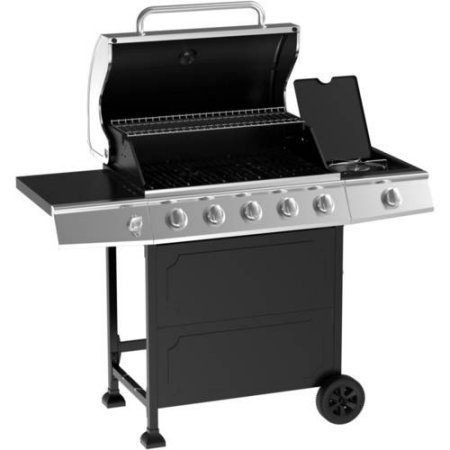 5-Burner-Gas-Grill-Stainless-SteelBlack-0-1