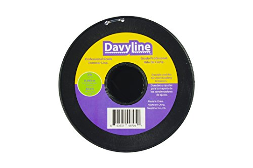 6-Lb-of-DavyLine-Professional-Heavy-Duty-Round-Shaped-Nylon-String-Trimmer-Line-Dual-Color-in-2-Units-of-3-lb-853-ft-Each-095-Diameter-Spool-0-1