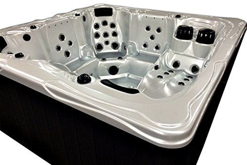 6-Person-Spa-Hot-Tub-5-Seats-1-Lounger-Model-S-12-Signature-12-HP-Dual-Pump-System-59-SS-Jets-220v-50-Amp-Titanium-Hydro-Therm-Heater-MP3-Bluetooth-Audio-System-Made-USA-2-Year-Warranty-0-0