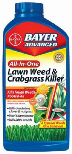 6-bottles-Bayer-704140A-32-oz-Concentrate-All-In-1-Lawn-Weed-Crabgrass-Killer-0-0