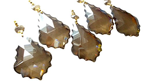 76mm-Chandelier-Crystals-Champagne-French-Cut-Prism-Ornament-Pack-of-5-0-0