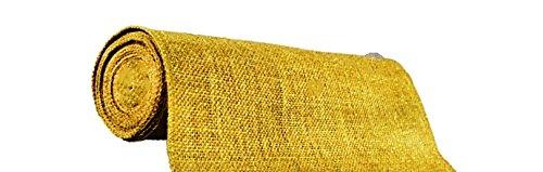 AAYU-Brand-Premium-Burlap-10-oz-Fabric-Plain-40-inch-x-60ft-DIY-Burlap-Weed-Barrier-Eco-Friendly-Natural-Wedding-Runner-Burlap-Roll-60ft-0