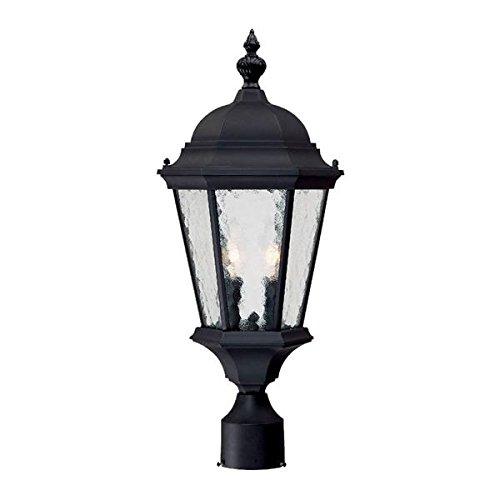 Acclaim-5517BK-Telfair-Collection-2-Light-Post-Mount-Outdoor-Light-Fixture-Matte-Black-0