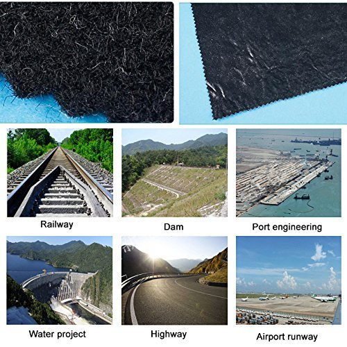 Agfabric-45oz-Landscape-Double-Heated-Non-Woven-Geotextile-FabricUnderlayment-and-Erosion-ControlGarden-Mat-49x250ft-0-1