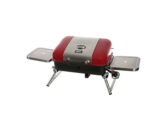 Albmax-expert-Gas-Grill-Portable-Tabletop-BBQ-Propane-with-2-Side-Shelves-Barbeque-Camping-Barbecue-Grills-Outdoor-Backyard-Patio-0