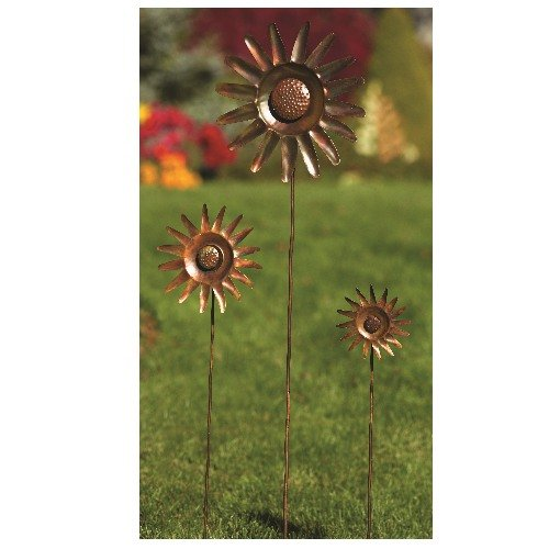 Ancient-Graffiti-Small-Sunflower-Spinner-Stake-0-1